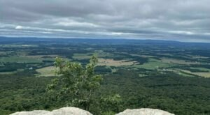 Flat Rock Loop Trail In Pennsylvania Leads To Panoramic Views Of The Cumberland Valley