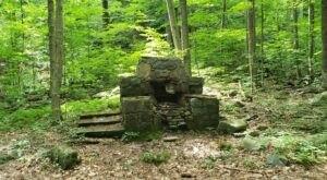 Run Across Fascinating Ruins Along Devil's Hole Trail In Pennsylvania