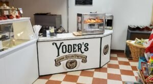 Experience Pretzel Nirvana At The Delectable Yoder's Hand Rolled Pretzels In Indiana