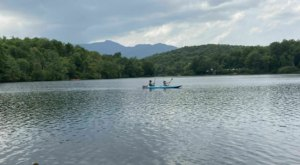 The Best Kayaking Lake In North Carolina Is One You May Never Have Heard Of