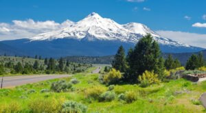 Hop In Your Car And Take The Mount Shasta-Cascade Loop For An Incredible 500-Mile Scenic Drive In Northern California