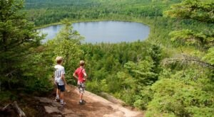 Oberg Lake Is A Beautiful Lake Nestled In The Minnesota Mountains