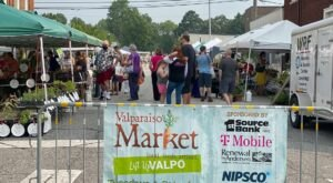 Shop For Fresh, Locally-Sourced Fruits, Veggies, And More At The Valparaiso Outdoor Market In Indiana