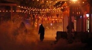 Monsters Lurk Around Every Corner At The Bone-Chilling Halloween Haunt At Worlds Of Fun In Missouri