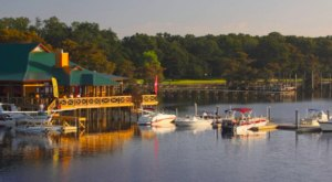 You Can't Beat The Endless Waterfront Views From Regatta Seafood In Louisiana