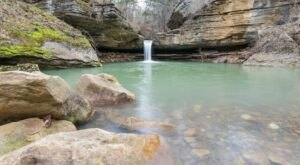 Follow This 0.7-Mile Trail In Arkansas To A Scenic Creek And Two Waterfalls