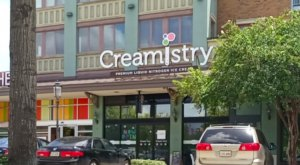 Made To Order Using Liquid Nitrogen, The Ice Cream At Creamistry In Louisiana Is one Of A Kind