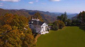 You Can Rent Your Very Own Fairytale Mountaintop Mansion In North Carolina