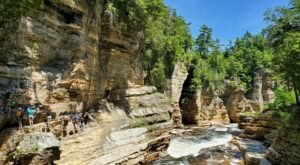 The Little Grand Canyon Of The East Is Located Right Here In New York
