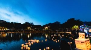 The Upcoming Water Lantern Festival In Northern California Will Be The Highlight Of Your Fall