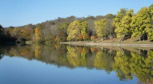 An Easy 2.4-Mile Trek, Twin Lakes Loop Trail Near Pittsburgh Is A Picture-Perfect Fall Hike