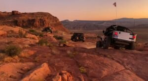Ride Across Rugged Nevada Scenery When You Go On A Jeep Tour With Las Vegas Rock Crawlers
