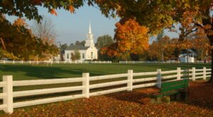 For A Nice Break Escape To This Small Picturesque Town In Vermont