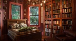 Stay In A Charming New Orleans Mansion With Its Own Private Library