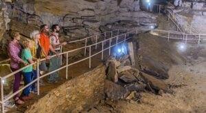 Walk Straight Through A Mountain On This Kentucky Cavern Tour