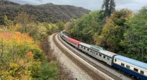Journey Through West Virginia's Stunning Fall Colors On The Autumn Colors Express Train