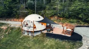 This Luxurious Glamping Dome In North Carolina Is One Of The Most Unusual Airbnb Listings Ever