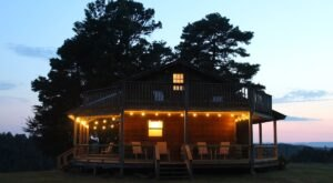 Enjoy A Secluded Stargazing Show At The Stargazing Cabin In Arkansas