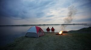 North Dakota's Best Kept Camping Secret Is This Waterfront Spot With More Than 200 Glorious Campsites