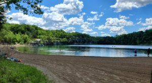 Go SCUBA Diving When You're Done Hiking Waterfall Trails At France Park In Indiana