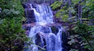 See The Tallest Waterfall In Maine At Baxter State Park