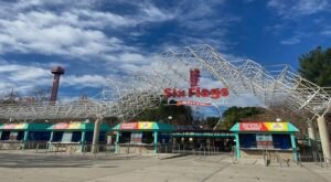 Get The Gang Together For A Fun Time Of Exploring Over 100 Attractions At Six Flags Magic Mountain In Southern California
