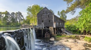 Historic Yates Mill County Park Is A Little-Known Park In North Carolina That Is Perfect For Your Next Outing