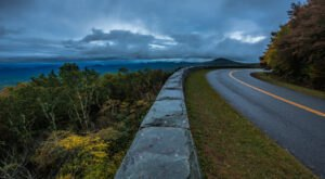 Take The Blue Ridge Parkway Through North Carolina For An Incredible 460-Mile Adventure That Ends On A Mountaintop