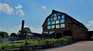 There's A Delicious Steakhouse Hiding Inside This Old Wisconsin Barn That's Begging For A Visit