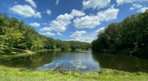 This 10-Mile Loop Trail In Indiana Leads To Two Crystal-Clear Hidden Lakes