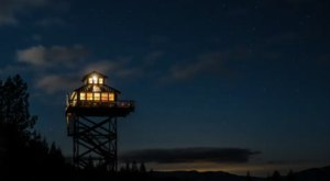 Live Your Own Fairytale With A Stay At This Enchanting Fire Lookout In Oregon