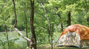 Kentucky's Best Kept Camping Secret Is This Waterfront Spot With More Than 40 Glorious Campsites