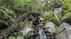 Venture Nearly 300-Feet Deep Below The Earth At This One Of A Kind Gorge In New Hampshire