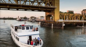 Soak In Views Of Old Town Sacramento When You Go On A Cocktail Cruise In Northern California
