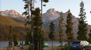 Idaho's Best Kept Camping Secret Is This Waterfront Spot With Just 19 Glorious Campsites