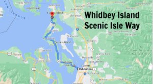 Experience The Sound, Fresh Seafood, And Stunning Scenery On This Scenic Washington Isle Way