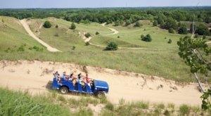 Take A 40-Minute Trip Along Lake Michigan With Saugatuck Dune Rides In Michigan