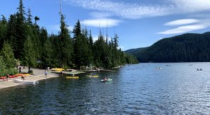 Lost Lake Campground Might Be The Most Beautiful Campground In The Entire State Of Oregon