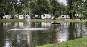 Michigan's Best Kept Camping Secret Is This Waterfront Spot With 130 Glorious Campsites
