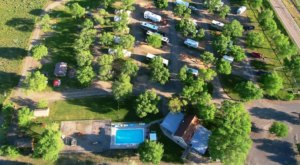 Panguitch KOA Holiday Is A Log Cabin Campground In Utah That May Just Be Your New Favorite Fall Destination
