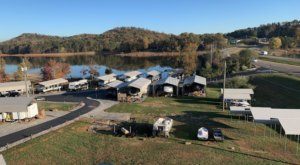 Tennessee's Best-Kept Camping Secret Is Webb's Lakefront Campground With Glorious Waterfront Campsites