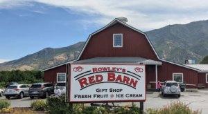 This Big Red Barn In Utah Has Summertime Treats Galore
