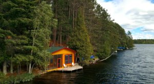 Inches From The Water, This Minnesota Cabin Is The Ultimate Lakeside Retreat