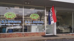 The Donuts Are Made From Scratch Daily At D&L Donuts In Virginia