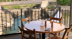 Dine While Overlooking Waterfalls At The Mill At Simone Pierce In Vermont
