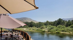 Dine At A Family Restaurant Along The Payette River At Locking Horns Riverside Restaurant In Idaho