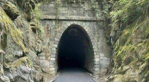 Walk Straight Through A Mountain On Virginia's Blue Ridge Tunnel Trail