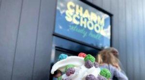 The Ice Cream Is Piled High At Charm School, A Must-Try Dessert Shop In Virginia