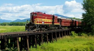 Explore Incredibly Beautiful Conway Valley Scenery On This Train Ride In New Hampshire
