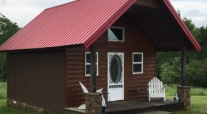 Wake Up On Top Of A Mountain At This Ouachita Mountains Airbnb In Oklahoma